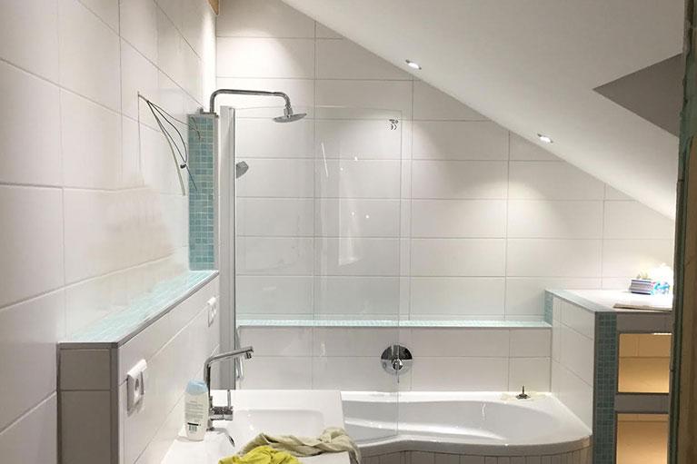 LED im Badezimmer